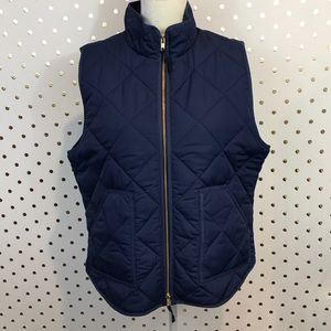 J Crew Factory Quilted Vest